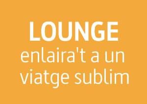 LOUNGE: Enlaira't a un viatge sublim
